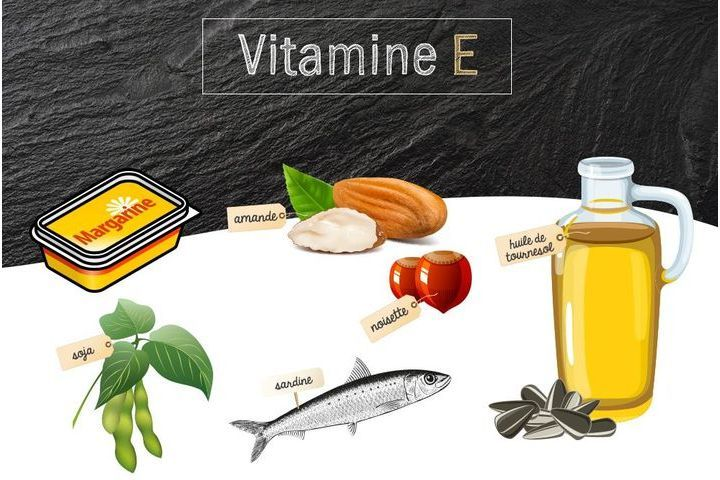 Vitamine E ou tocophérol