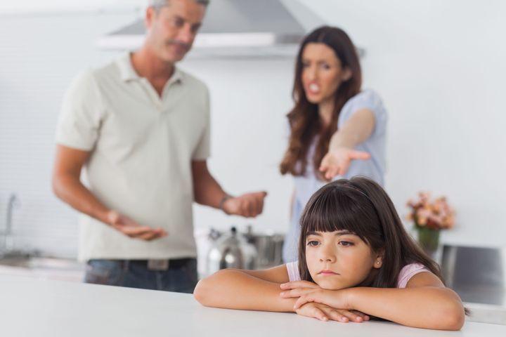 dispute devant les enfants