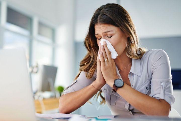 Symptômes d'une allergie