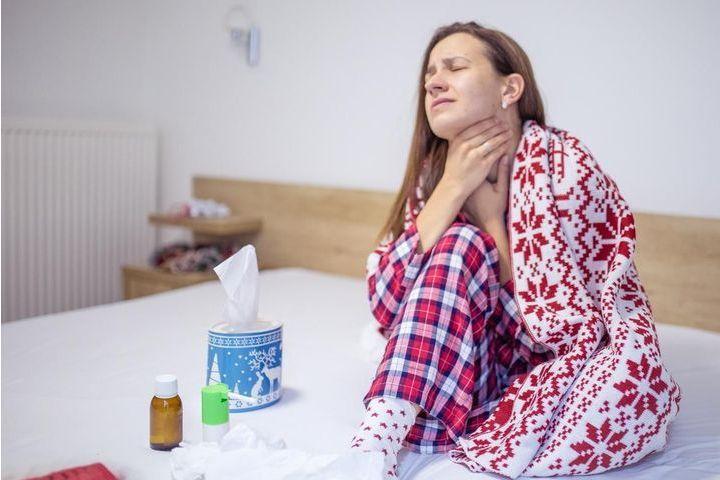Traitement du mal de gorge