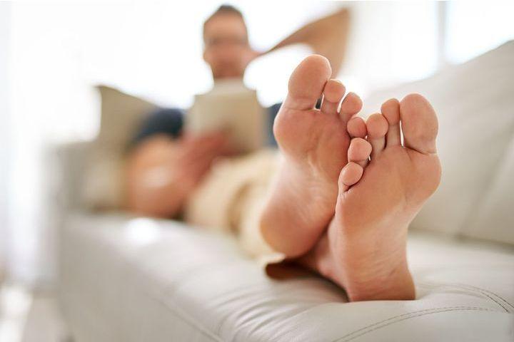 mycose pied ou pied d'athlète