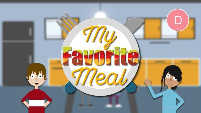 Apprendre l'anglais aux enfants – Les repas et les aliments