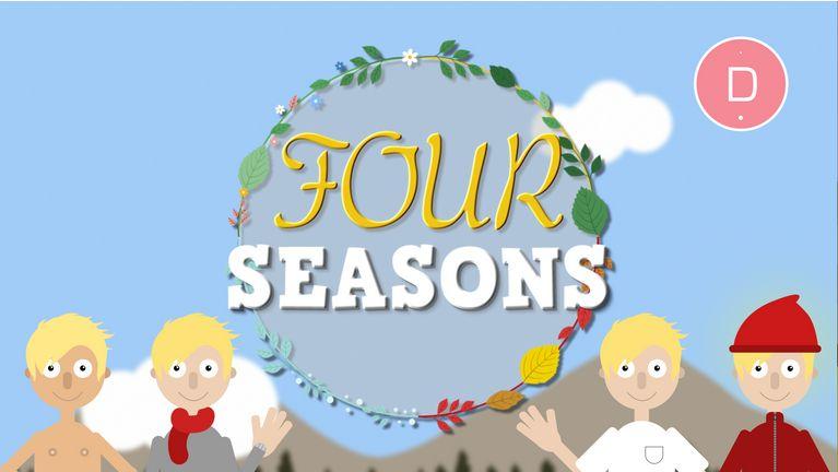 Apprendre l'anglais aux enfants – Les saisons