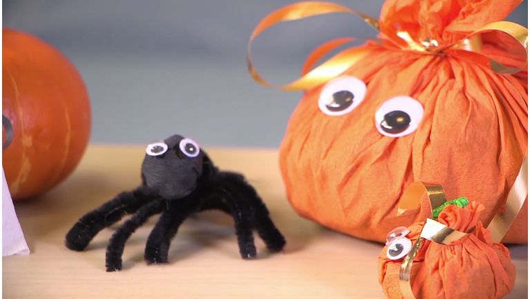 DIY Halloween bonbons