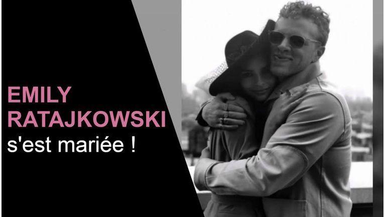 Emily Ratajkowski s'est mariée