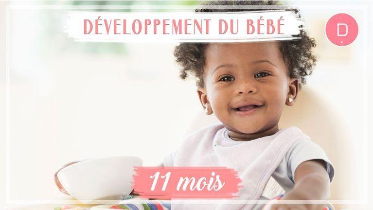 Développement de bébé - 11ème mois