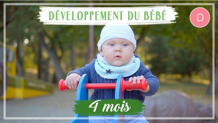 Développement de bébé - 4ème mois
