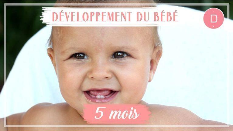Développement de bébé - 5ème mois
