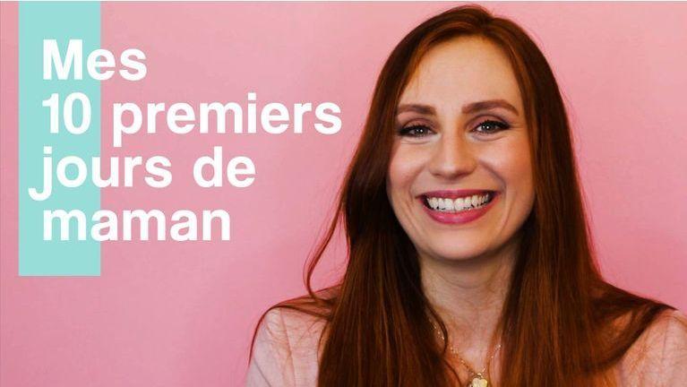 Melissa Bellevigne – Mes 10 premiers jours de maman