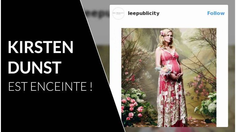 Kirsten Dunst enceinte