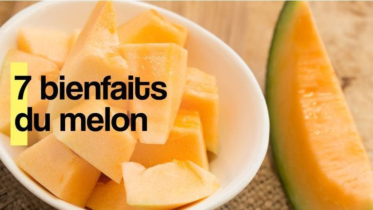 bienfaits du melon