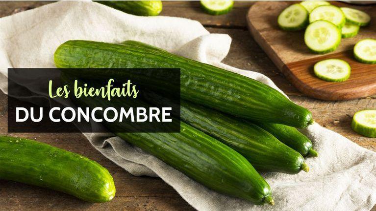 concombre bienfaits