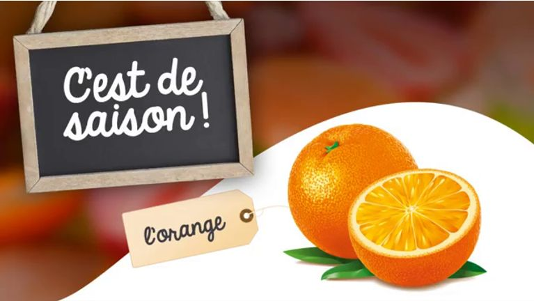 bienfaits de l'orange
