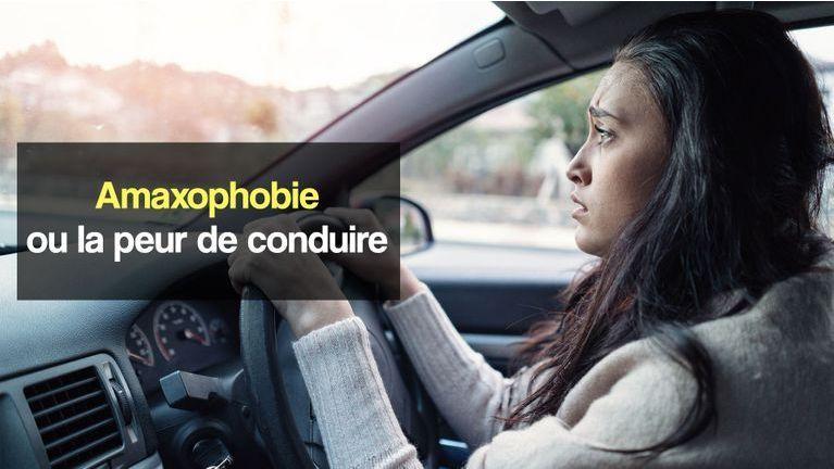 amaxophobie ou la peur de conduire