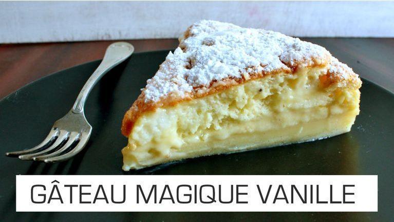 gateau magique vanille