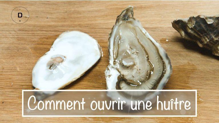 Comment ouvrir une huître