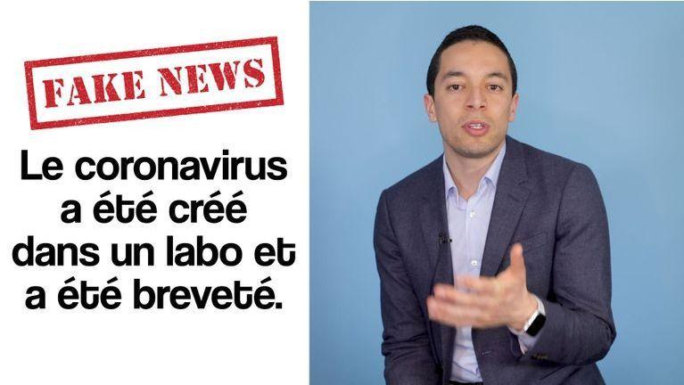 FAKE NEWS – Le coronavirus a été créé dans un labo et a été breveté
