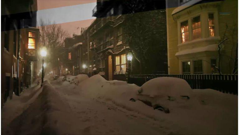 neige verglas glisser
