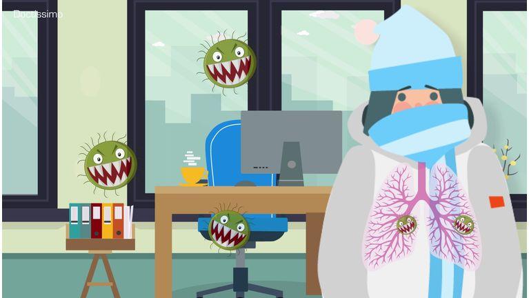malade en hiver