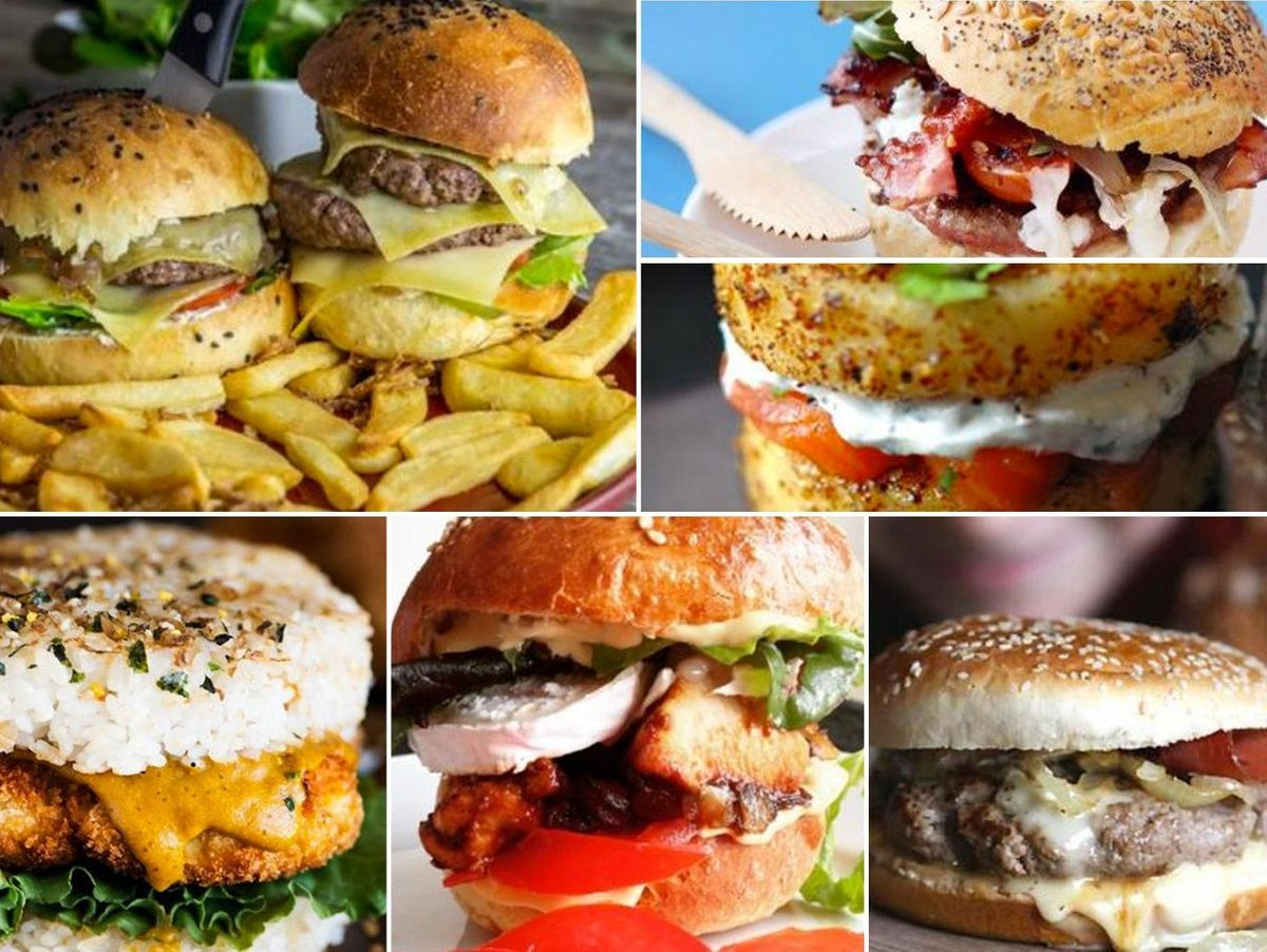 Recettes de burger  12 recettes originales de burgers maison ...