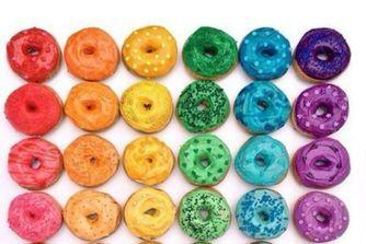 Rainbow food : le top des assiettes colorées