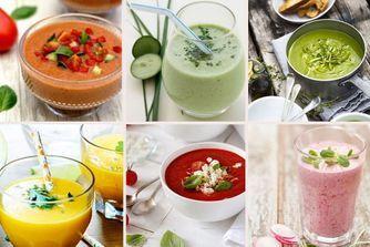 Soupe froide : 20 recettes salées et sucrées