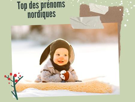 Top 20 des prénoms nordiques