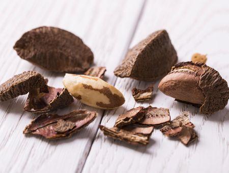 L'huile de noix du Brésil, pour les peaux et cheveux secs