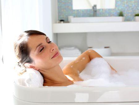 Le secret d'un bain relaxant
