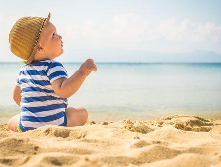 Bébé en été