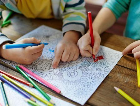 Avez-vous essayer les mandalas pour calmer vos enfants ?