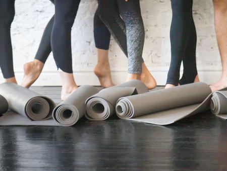 10 tapis de yoga  à tester