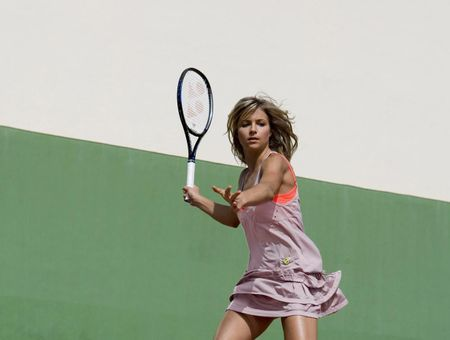 Le tennis version glamour