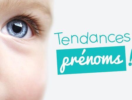 Tendance des prénoms en France - Fille et Garçon- juillet 2015