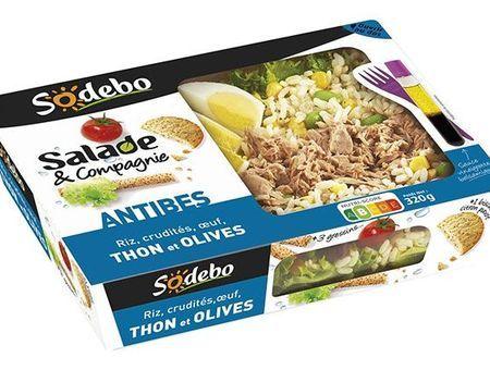 Rappel de la salade Antibes de Sodebo
