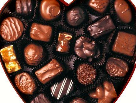 Un coeur en chocolat !