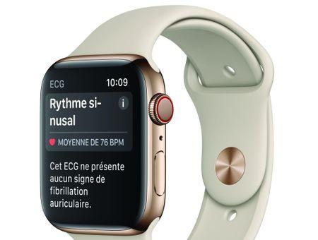 On a testé l'électrocardiogramme de l'Apple Watch Série 4