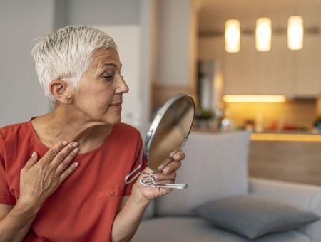 Les effets de la ménopause sur la peau