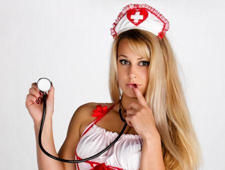 Fantasme d'infirmière