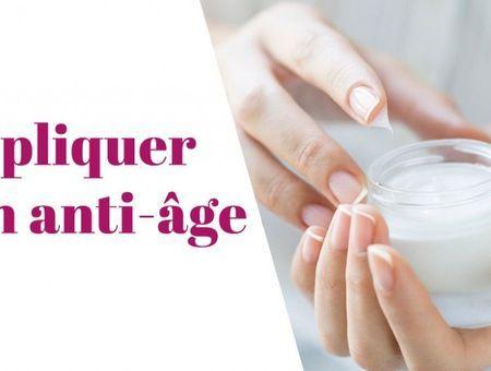 Comment appliquer son anti-âge