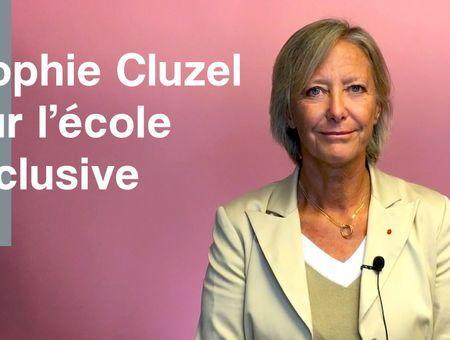 Sophie Cluzel s'exprime sur l'école inclusive