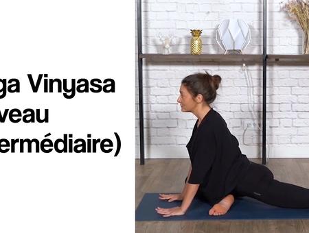 Yoga Vinyasa (niveau intermédiaire)