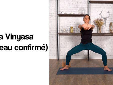 Yoga Vinyasa niveau confirmé