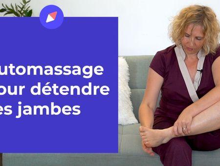 Automassage pour détendre ses jambes