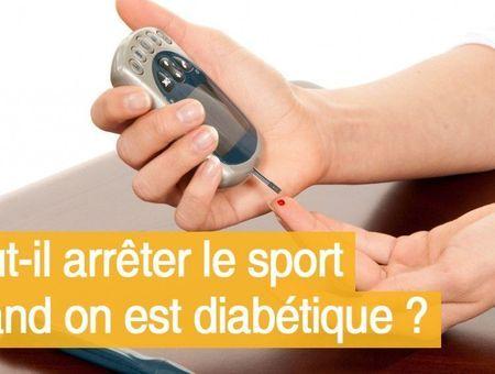 Faut-il arrêter le sport quand on est diabétique ?