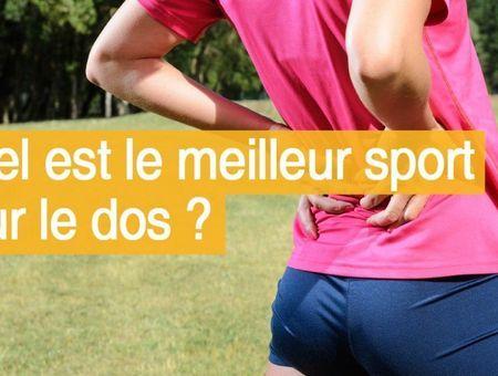Quel est le meilleur sport pour le dos ?