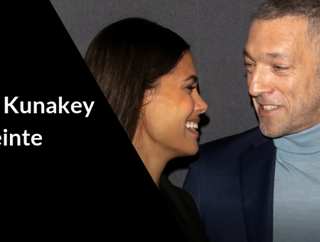 Tina Kunakey et Vincent Cassel attendent leur premier enfant