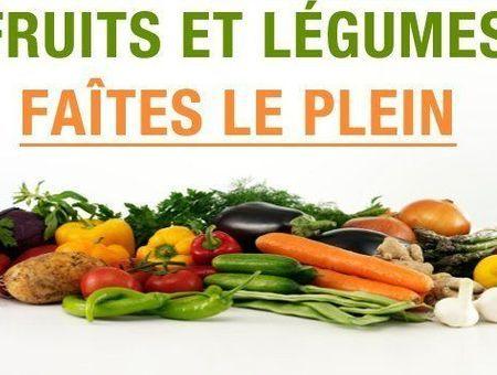 Fruits et légumes : faites le plein!