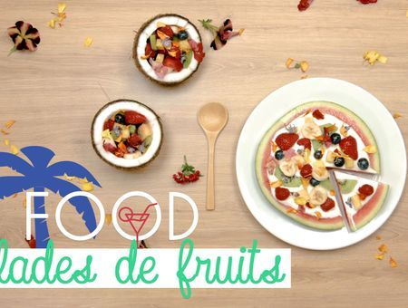 2 façons originales pour présenter sa salade de fruits