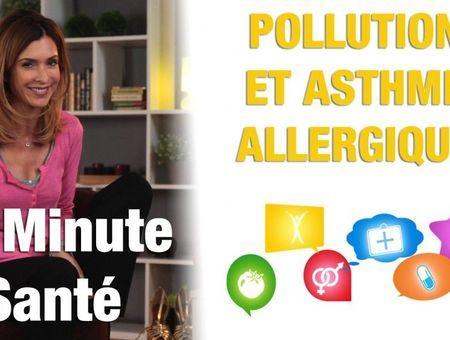 La pollution a-t-elle une influence sur l'asthme allergique ?